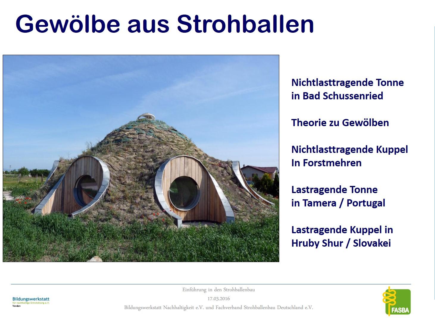 01 Gewölbebau mit Strohballen