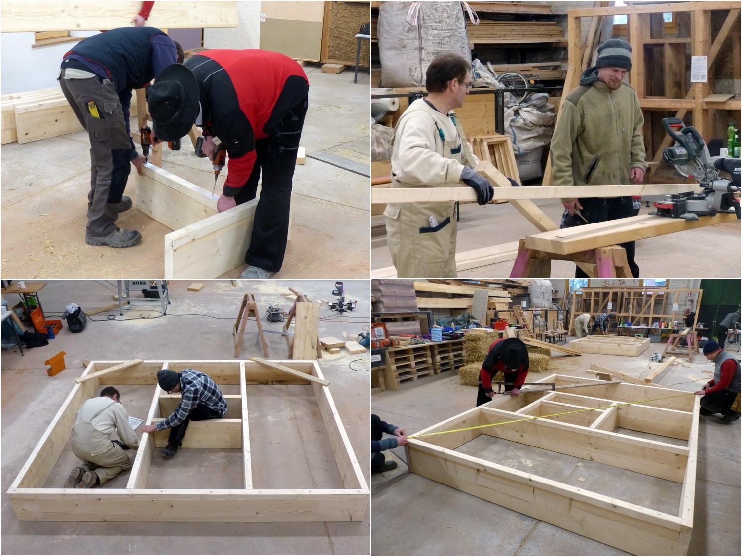 02 Bau der Rahmen